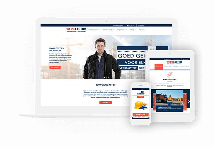 WerkFactor WorkPress website